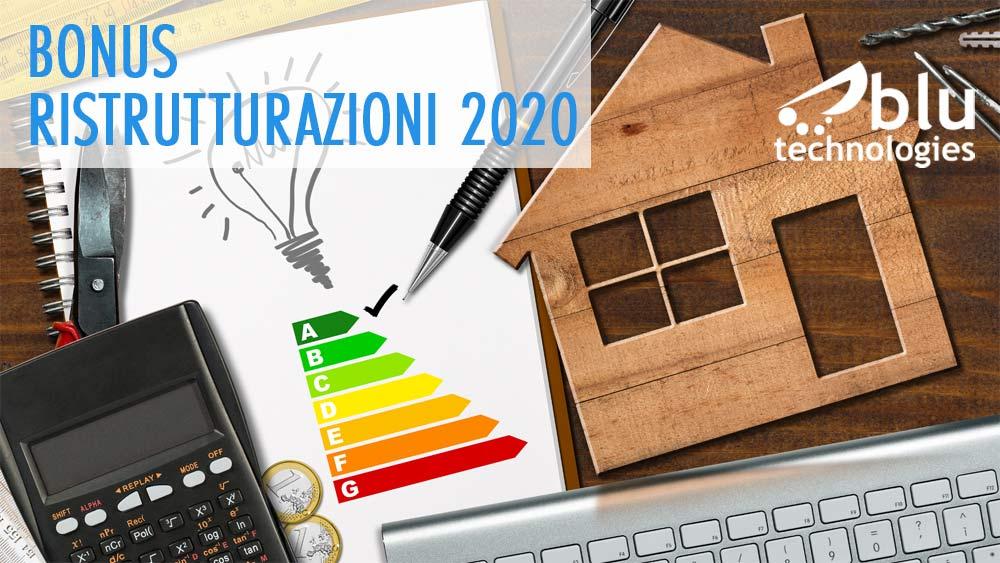 Bonus ristrutturazioni 2020