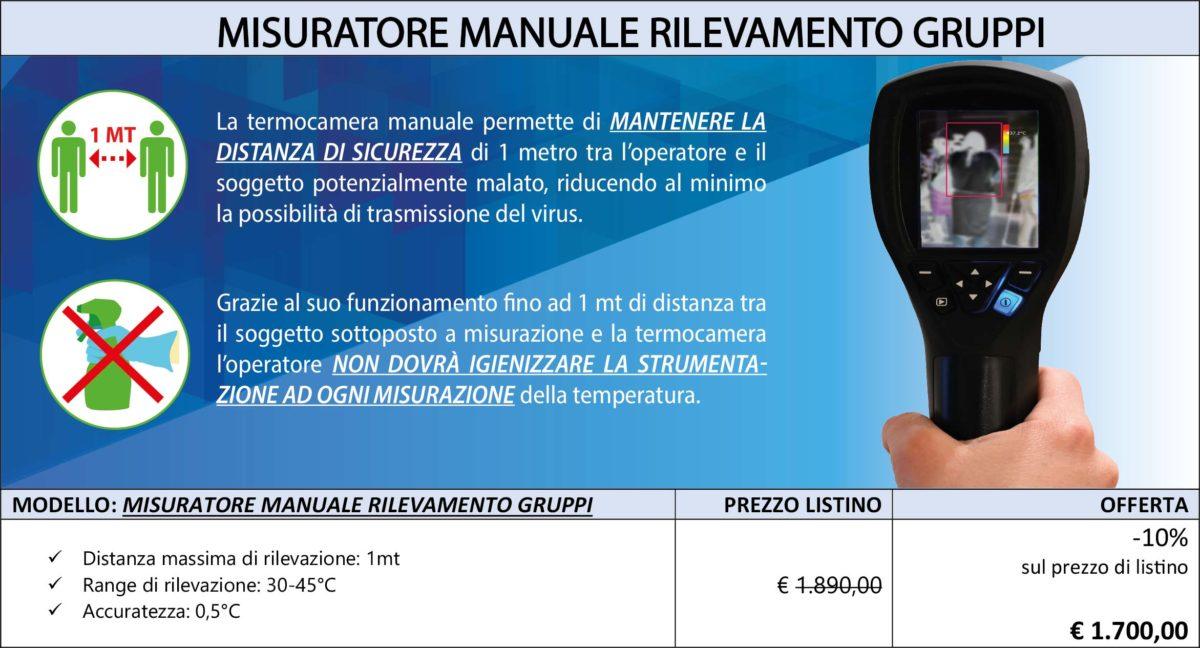 misuratore manuale