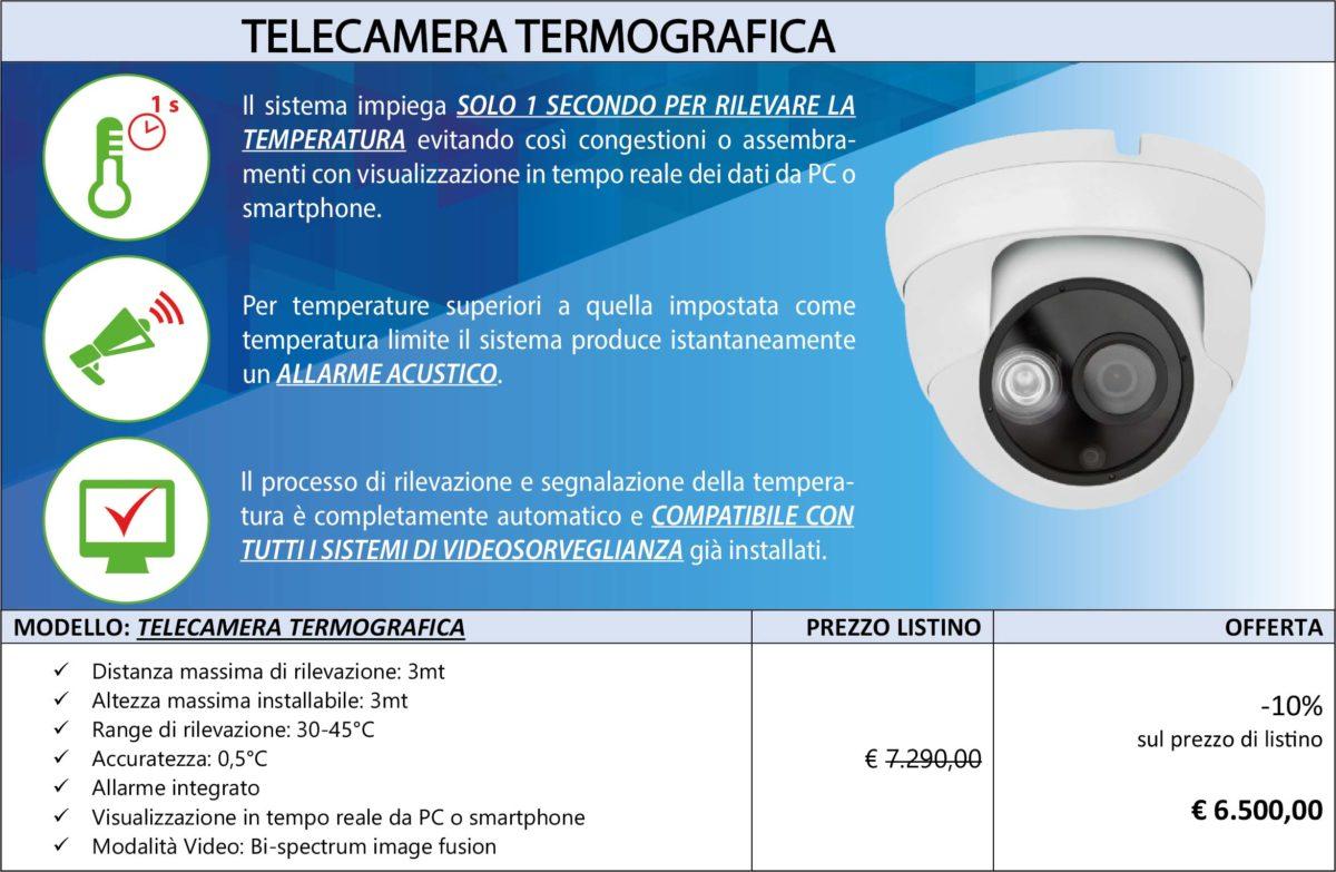 telecamera termografica